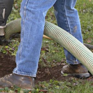 septic inspection- hose