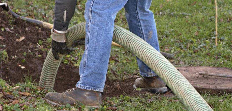 septic inspection- hose