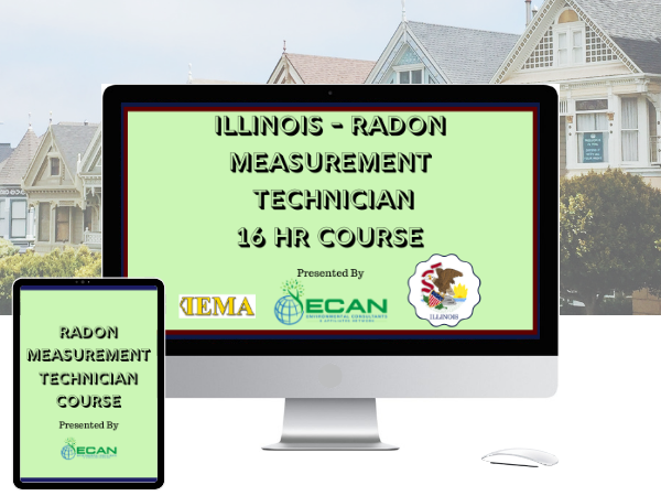 IL radon measurement tech 16 hour course