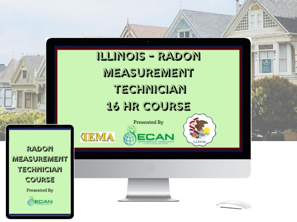 IL radon measurement tech 16 hour course