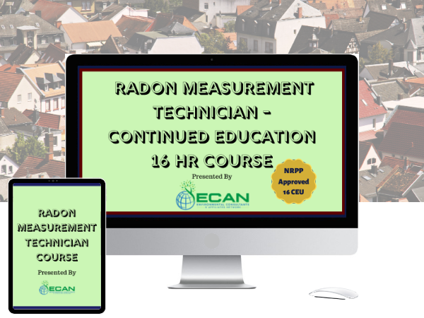Radon measurement tech online ceu course