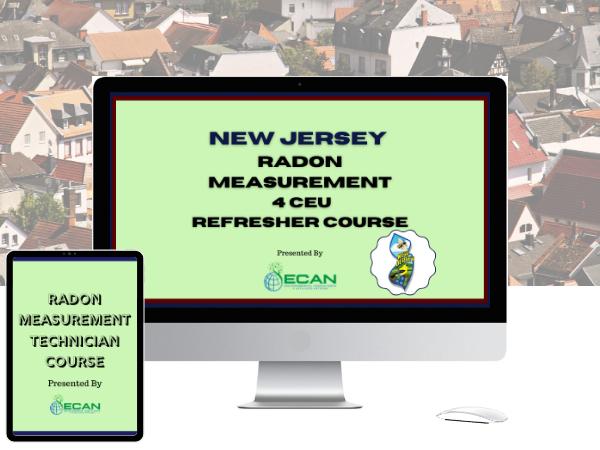 NJ Radon Measurement CEU Course Online