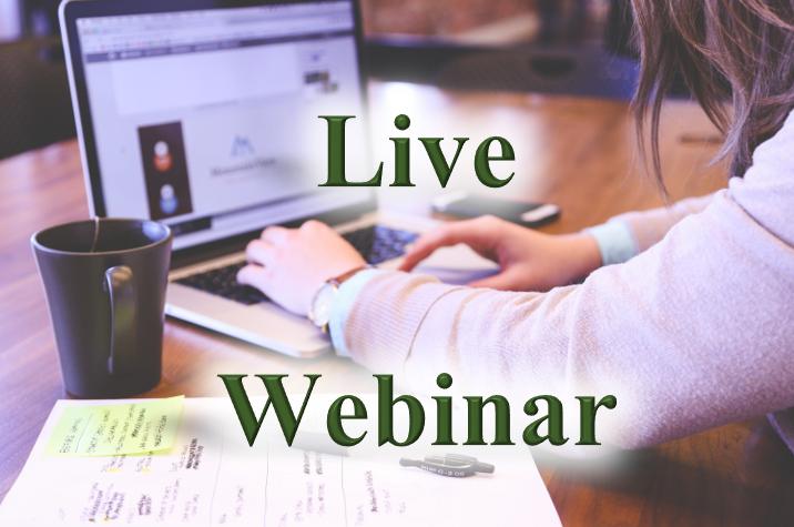 live webinar course cover