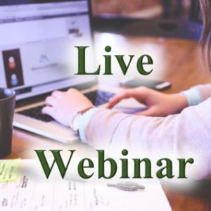 Live Webinar