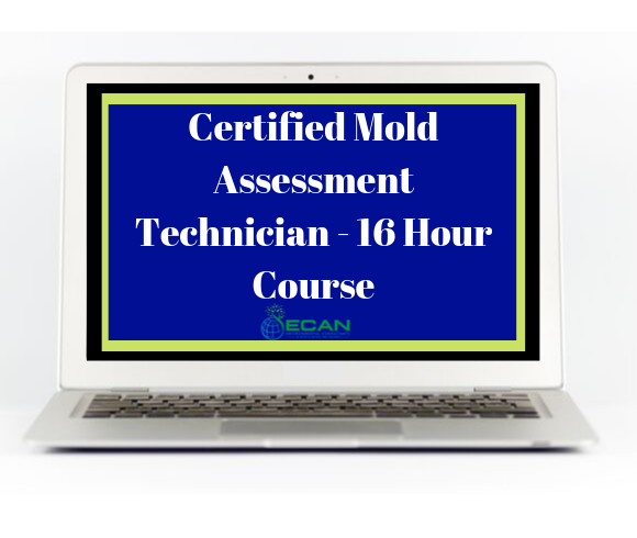 Certified Mold assessment technician 16 hour course