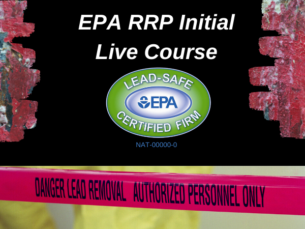 EPA RRP Intial Live course