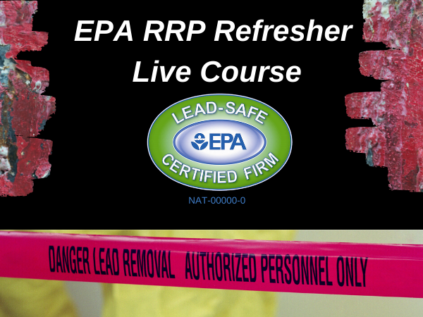 EPA RRP Live Refresher Course