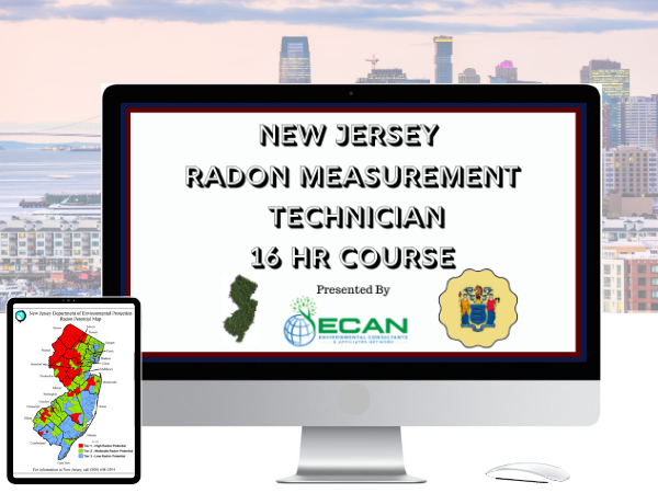 New Jersey Radon Measurement Course cover