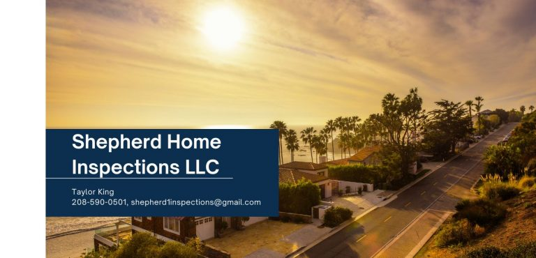 Shepherd Home Inspectors LLC Website 768x370