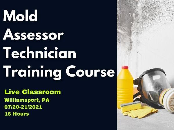 Live classroom: Certified Mold Assessor
