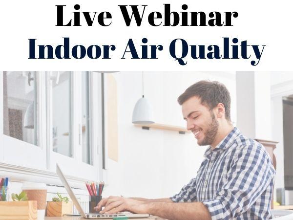Live webinar IAQ training
